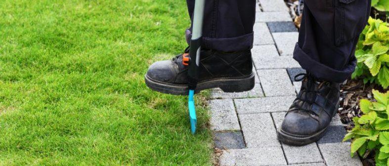 Bekannt Rasenkanten anlegen und schneiden - Gartenfans.info NI18