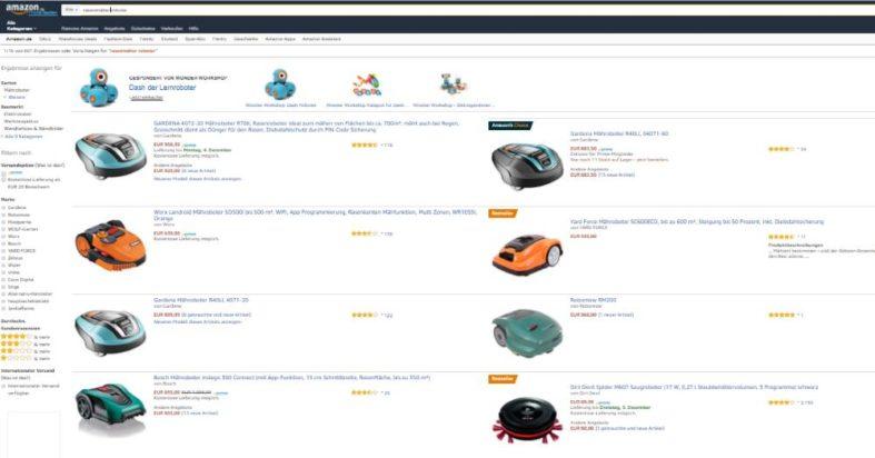 Kaufkriterien für einen Rasenmäher Roboter