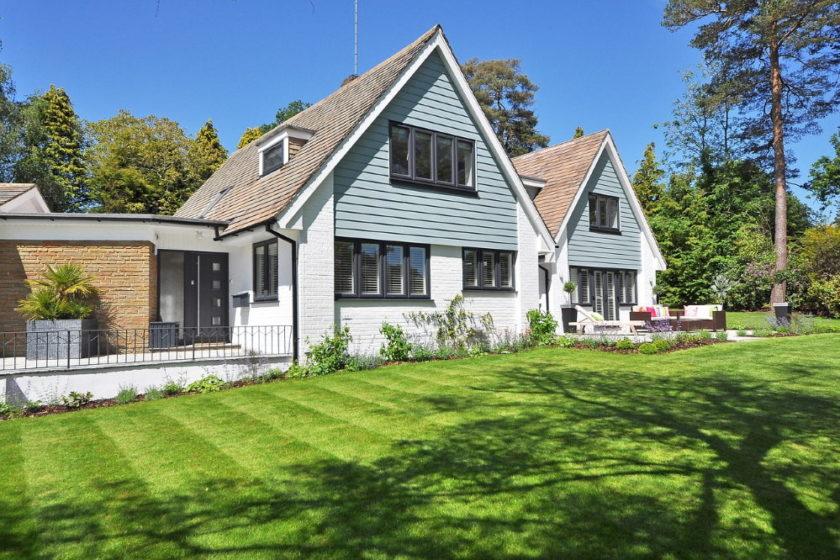 Garten für den Wert einer Immobilie