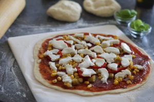 Pizzastein für Gasgrill